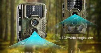 caméra de chasse et de surveillance des animaux